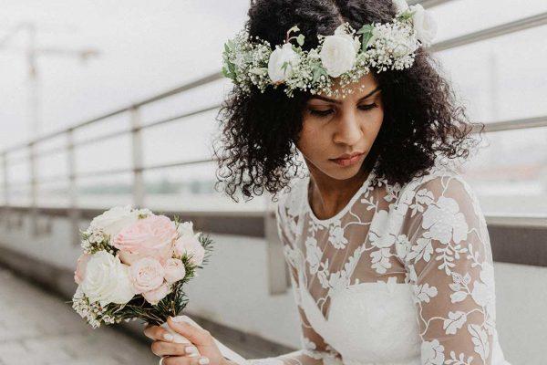 Hochzeitsreportage Muenchen Brautshooting Brautkleid