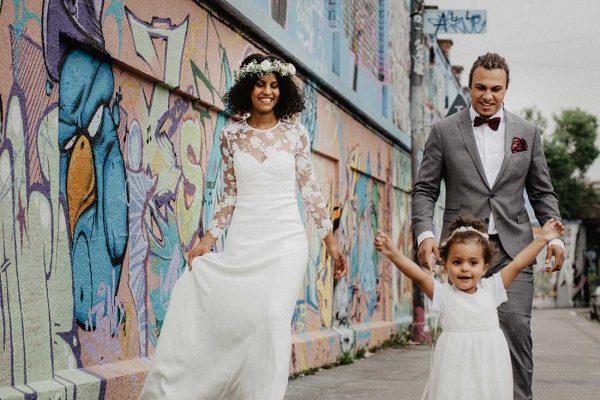 Hochzeitsreportage München Familienbild