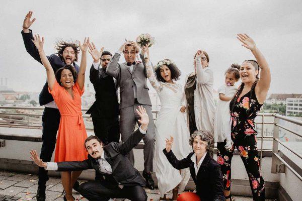 Hochzeitsreportage Muenchen Gruppenbilder