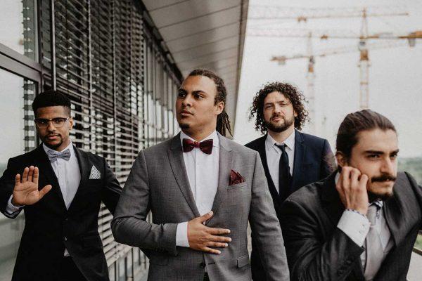 Hochzeitsreportage München Männer JGA