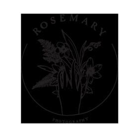Rosemary Photography Hochzeitsfotografie Augsburg Logo