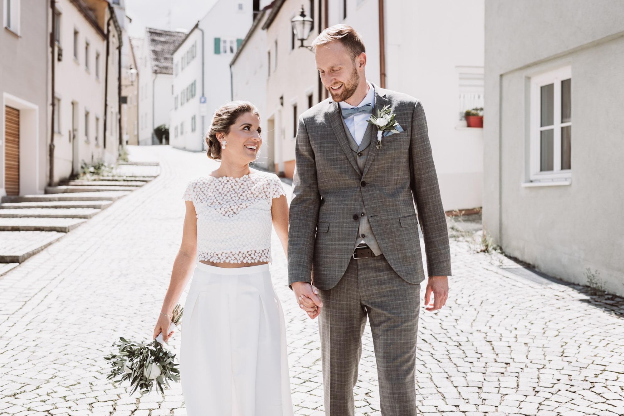 Nachtstallung Augsburg, Hochzeit